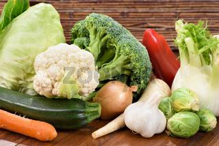 Frisches Gemüse vom Markt