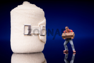 Bandage for injuries