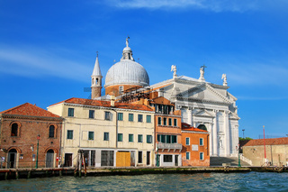 Basilica del Santissimo Redentore on Giudecca island in Venice, Italy