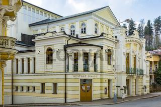 City theaters of Marienbad in the Czech Republic