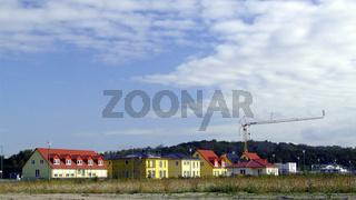 Neubausiedlung / new houses