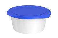 Round plastic packaging