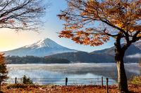 Mt. Fuji Sunrise Lake Kawaguchiko