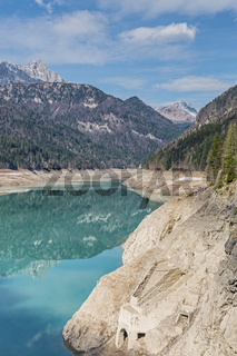 Lago di Sauris im Friaul
