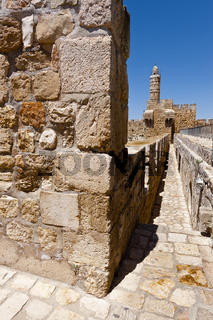 Walls Surrounding the Old City in Jerusalem