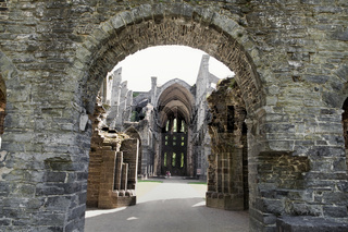 Ruins of the Abbey of Villers, Wallonia, Belgium