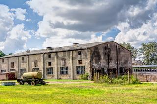 Industriell genutztes Schlachthaus