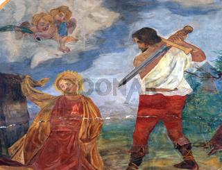 The Beheading of Saint Catherine of Alexandria