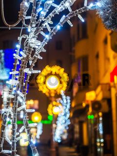 Zagreb Beleuchtung im Advent