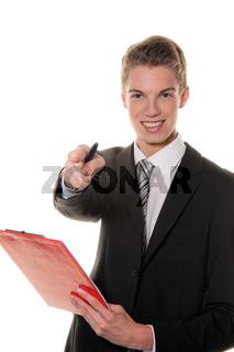 Erfolgreicher Sachbearbeiter in Dienstleistungs Gewerbe