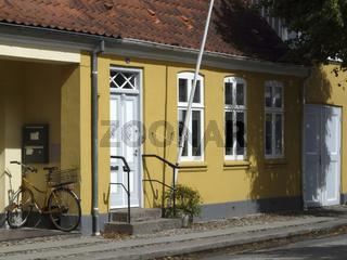 Wohnhaus in Christiansfeld in Daenemark