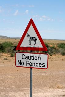 Schilder in Namibia. 005