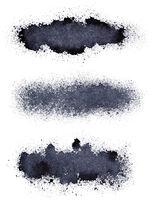 Stripes of spilt paint