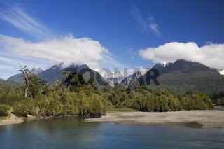 Landschaft an Carretera Austral, Patagonien, Chile, landscape aelong Carretera Austral, Patagonia, Chile