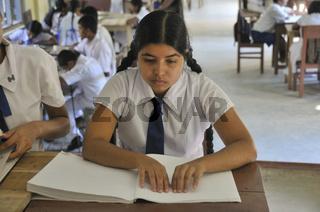 Blindenschule, Tangalle, Sri Lanka, Ceylon, Südasien, Asien