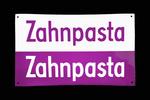 Altes Emailschild 'Zahnpasta' um 1950