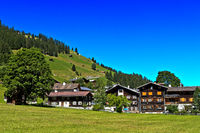 Safien Platz, Safiental, Safien Valley, Surselva, Grisons, Switzerland