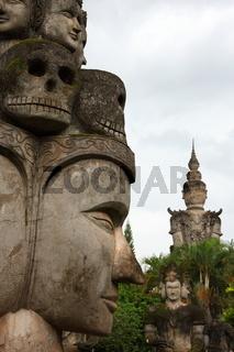 Xieng khuan Buddha Park near Vientiane, Laos