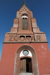 Kirche in Neuwarp, Nowe Warpno