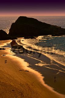 Sandy Beach in Portugal
