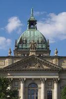 Leipzig - Gerichtsgebäude, Deutschland