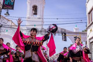 Fiesta de la Virgen Guadalupe in Sucre