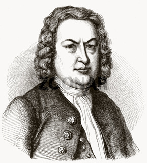 Johann Sebastian Bach, 1685-1750, German composer