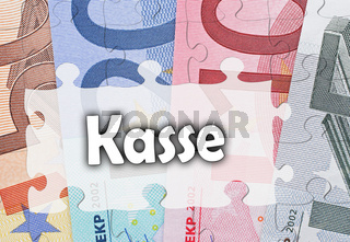 Euro Geld Kasse