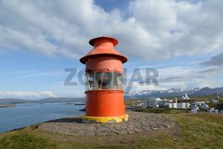 Leuchtturm, Stykkisholmur, Island