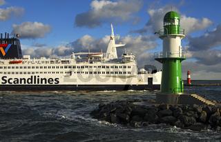 Fährschiff 'Kronprins Frederike'