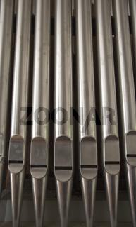 Orgelpfeifen, organ pipes