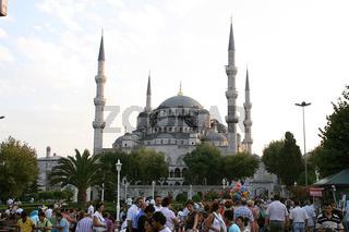 Türkei, Istanbul, Blaue Moschee