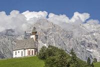 mountain church at Hochkönig