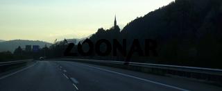 Rheintal-Autobahn A 13, Schweiz