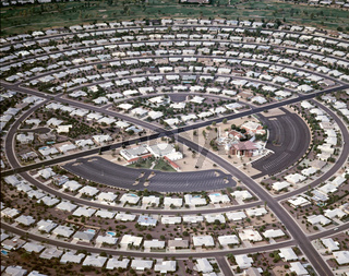 USA, Arizona, Phoenix, Sun City, Rentnersiedlung / USA, Arizona, phoenix, Sun city, pensioner-settlement