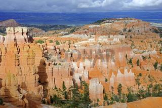 Felsformationen und Hoodoos im Bryce Canyon Nationalpark, waehre
