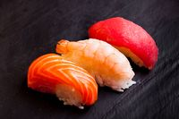 Set of tree sushi