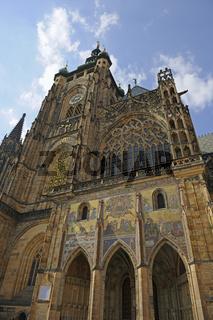begehbarer Suedturm des Veitsdom, St. Veit, Burg von Prag, Hrads