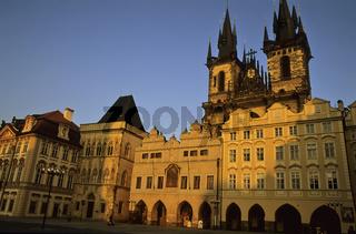 Tschechien, Prag, Praha, Teynkirche, Altstaedter Ring