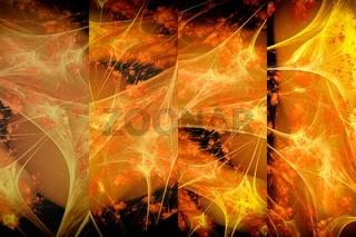 Fractal image: 'Autumn motives'.
