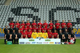 Mannschaftsfoto SC  Freiburg 2017/18
