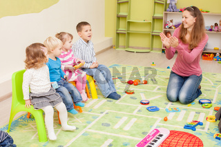 Games in kindergarten