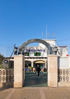 Club Nautic Portixol entrance Palma de Mallorca