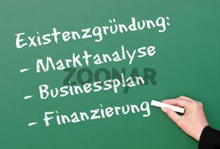 Existenzgründung: Business Konzept