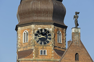 St. Katharinen Kirche, Speicherstadt, Hamburg, Deutschland, Europa