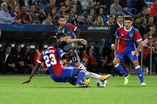 Fussball-CL: 2. Sptg., FC Basel vs. Benfica Lissabon
