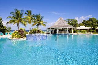 hotel''s swimming pool, Tobago