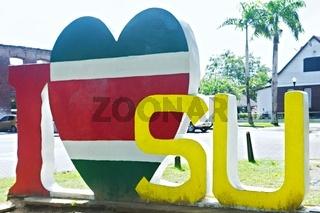 I Love Suriname