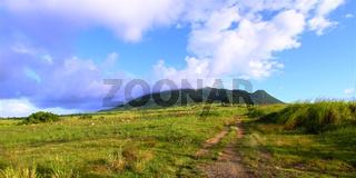 Mount Liamuiga in Saint Kitts