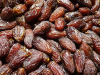 pile of dates , dried date fruits